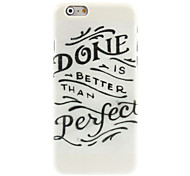 Done Perfect Design Hard Case for iPhone 6