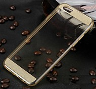 High Quality Diamonds Glitter Transparent TPU Hard Case for iPhone 6(Assorted Colors)