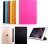 solide couleur de haute qualité super slim cas stand pour iPad intelligente air 2 (couleurs assorties)