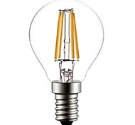 ON E14 4 W 4 COB 400 LM Warm White A LED Filament Lamps AC 220-240 V