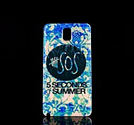 5 Seconds Summer Pattern Hard Case for Samsung Galaxy  Note 3