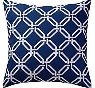 poliéster geométrico moderno cobertura decorativa travesseiro