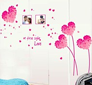 Dandelion Love Pattern Wall Sticker