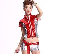 Lead Dancer Nightclub Jazz Outfit Racing Mode Sexy Girl Pole Dancing Cheerleading Uniforms