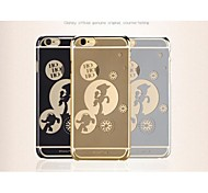 X-DORIA The Original Disney Cute Cartoon Protection Shell Ultrathin Electric Mirror Case for iPhone 6(Assorted Color)