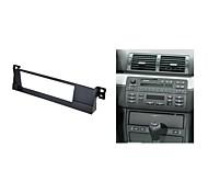 kit de instalação da guarnição do carro de rádio fascia para bmw série 3 e46 cd dvd facia