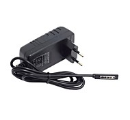 eu europa 2.6a 12v enchufe del adaptador de corriente escritorio 45w para Microsoft Surface Windows RT 1 2 8