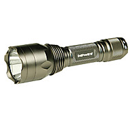 Delipow DLP-613A Rechargeable 5-Mode 1x Cree LED Flashlight(225LM, 1x18650, Silver)
