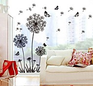 Wall Stickers Wall Decals, Dandelion PVC Wall Stickers