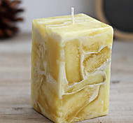 Yellow Sweet Orange Fragrance Wedding Smokeless Candle