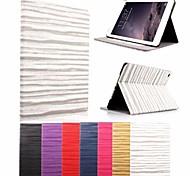 cas de conception spéciale avec support en cuir PU pour ipad 6 (couleurs assorties)