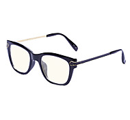 [Free Lenses] Plastic Wayfarer Full-Rim Retro Prescription Computer Eyeglasses