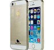Black Pomelo® Transaparent Case for iPhone 5/iphone5S