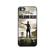 The Walking Dead Pattern Aluminum Hard Case for iPhone 5/5S