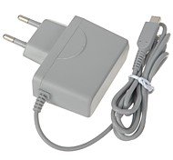 EU Type Travel Charger/Power Adapter for Nintendo 3DS (100~250V,Grey)