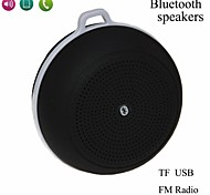 Sports Mini Bluetooth V3.0 Speaker With Mic / USB / TF Slot / FM Radio