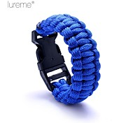 Survival Whistle / Survival Bracelet Survival Hiking Nylon Other - Lureme