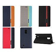 Assorted Color PU Leather Full Body Case with Stand and Card Slot forMotorola G2 (Assorted Colors)