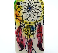 Wind Chime Pattern PU Leather Full Body Case with Card Slot and Stand for iPhone 4S