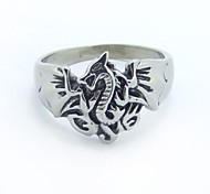 Fashion Stainless Steel  Metal Style Dragon Rings