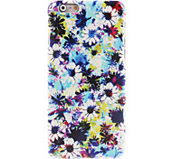 Blooming Flower Pattern Hard Case for iPhone 6