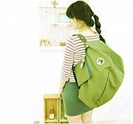 30 L Travel Organizer Traveling Outdoor Compact Green / Red / Pink / Blue Oxford