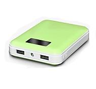 xipin ® m1 12000mah externe Batterie LED-Licht LED-Bildschirm für iphone6 / 6plus htc Galaxie