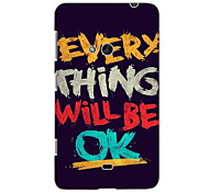 Everything Will be OK Design Hard Case for Nokia N625