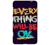 tout sera ok étui rigide de conception pour Nokia N625