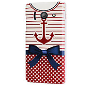 Anchor Nautical Hard Plastic Case Cover for Huawei Ascend Y300