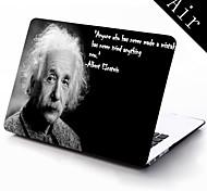 Albert Einstein zitiert Design Ganzkörper-Schutz-Kunststoffgehäuse für 11-Zoll / 13 Zoll neue Mac Book Luft