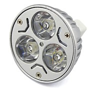 GU5.3 3 W 3 High Power LED 300 LM Warm White/Cool White MR16 Decorative Spot Lights DC 12/AC 12/AC 24/DC 24 V