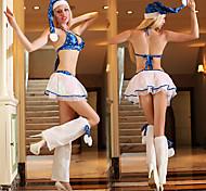 Hot Lady Blue Stars del bikini delle donne di Natale del costume