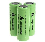 5000mAh 26650 Rechargeable Battery Green(1pcs)