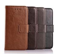 simili cuir PU Housse en cuir avec support et une carte slot pour iPhone 6 (couleurs assorties)