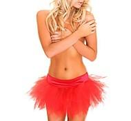 gaze multicolor apresentações de dança tutu moda saia traje do carnaval