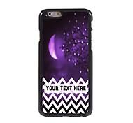 персонализированные телефон случае - фиолетовый случай луна металлическая конструкция для iphone 6 плюс