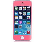 LR-0824 Mobile Phone Toughened Glass Protective Film, Tempered Glass Screen Protector for iPhone 5 /5S (Pink)