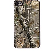 Tree Pattern Aluminum Hard Case for iPhone 4/4S