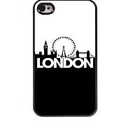 london Design Aluminium-Hülle für das iPhone 4 / 4s