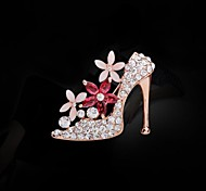 alta calidad de tacón alto broche de zapatos