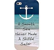 anchor modello rigido posteriore Case for iPhone 4 / 4s