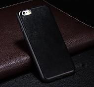 Ultra-thin PU Leather Hard Case for iPhone 6 (Assorted Colors)