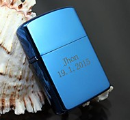 Personalized Gift Blue Engave Oil Lighter