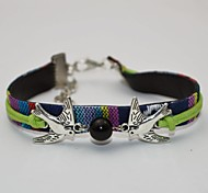 European Style Fashion Beaded Critters Dove Bracelet