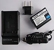 Ismartdigi EL15 7.0v 1900mAh Camera Battery+EU Plug+Car Charger  for Nikon D7000/D7100/1V1/D800/D800E/D600/P520/P530