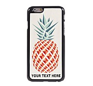 Personalized Phone Case - Pineapple Design Metal Case for iPhone 6