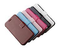 couleur unie moins cher cas de haute qualité flip complet du corps pour iphone 6 (couleurs assorties)