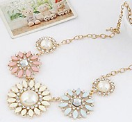 Women's Fashion Flower Necklace/Beautiful Flower Necklace