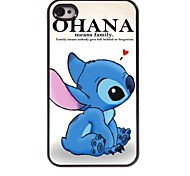 OHANA MEAN Design Aluminum Hard Case for iPhone 4/4S